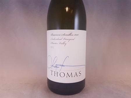 Thomas Braemore Hunter Valley Semillon 2010