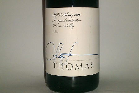 Thomas DJV Shiraz 2010