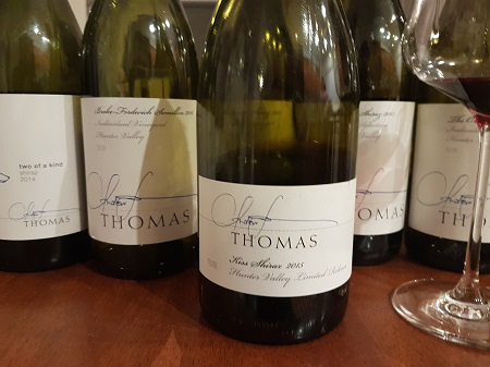 Thomas Wines Kiss Shiraz Hunter Valley 2015