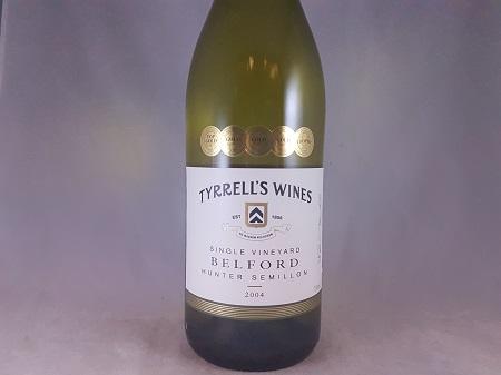 Tyrrells Wines Belford Hunter Valley Semillon 2004