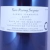 Farr Rising Saignee Rose Geelong 2017 Back label