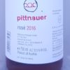 Pittnauer Blaufrankisch Rose Burgenland 2016 Back Label
