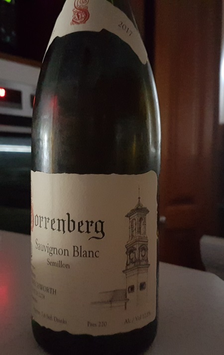 Sorrenberg Beechworth Sauvignon Blanc Semillon 2017