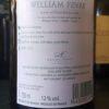 William Fevre Petit Chablis 2016 Back label