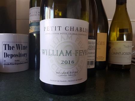 William Fevre Petit Chablis 2016