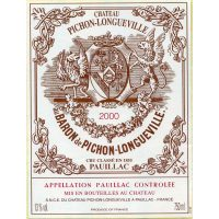 Chateau Pichon-Longueville Baron 2nd Growth Pauillac