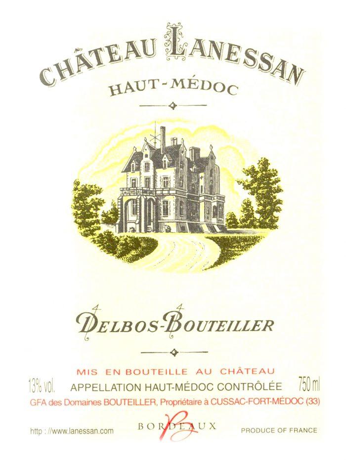 chateau lanessan Haut-Medoc 1996