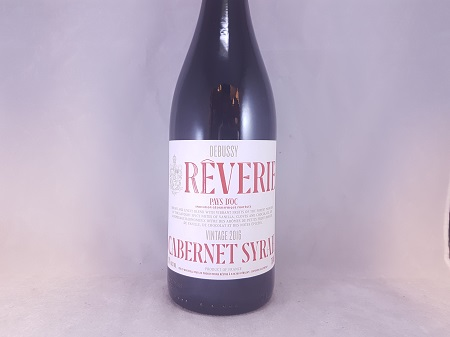 Debussy Reverie Vin de Pays Cabernet Sauvignon Shiraz 2017
