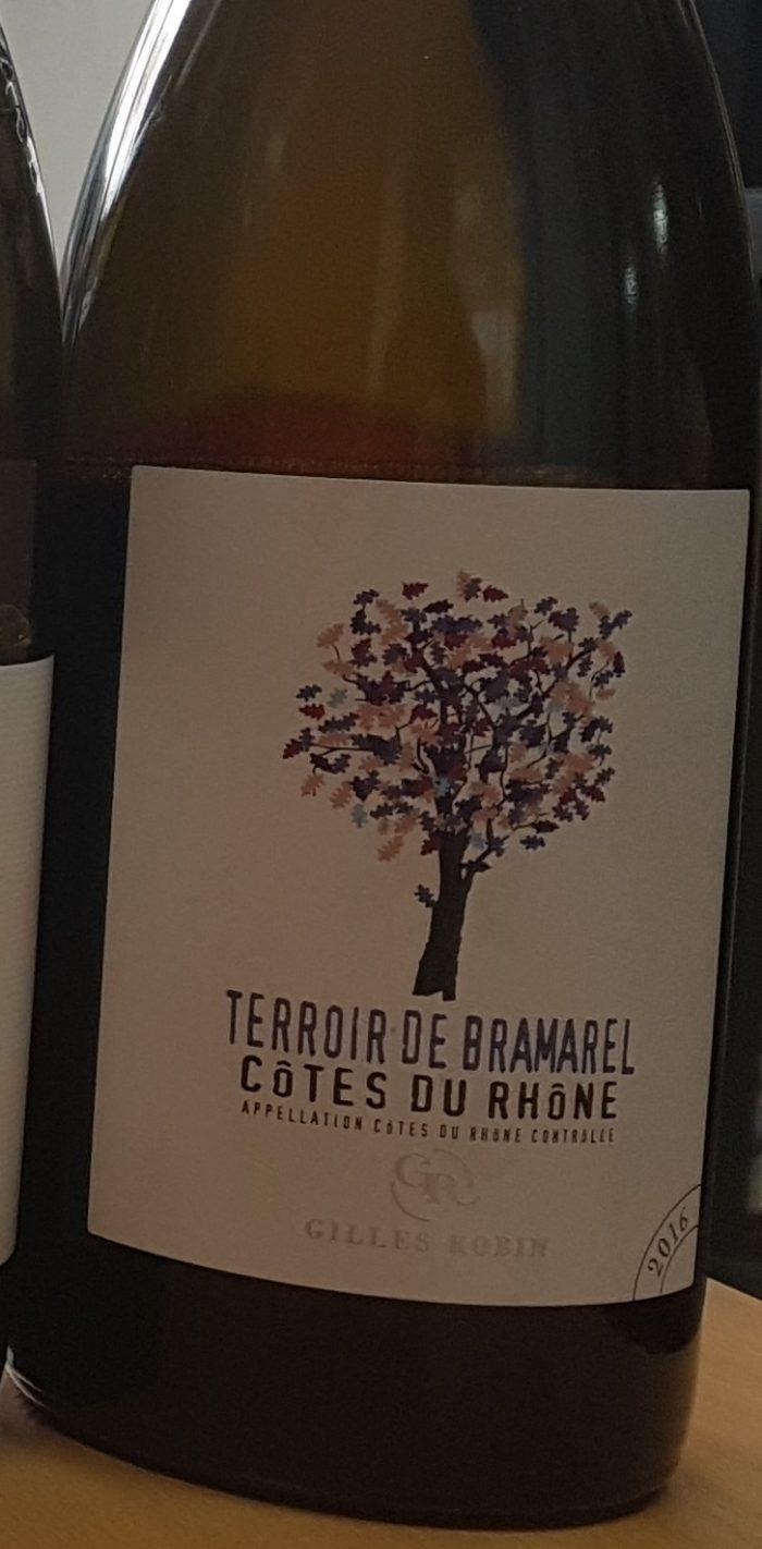 Gilles Robin Terroir de Bramarel Cotes du Rhone 2016