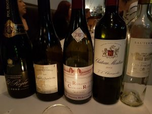 Burgundy To Bordeaux At Richmond Hill Cafe and larder 13th November 2018