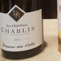 Domaine Des Hates Pierrick Laroche Les Chatillons Chablis 2015
