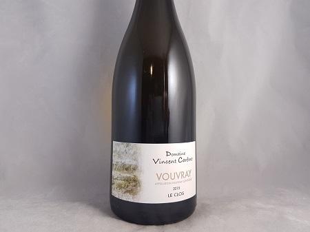 Vincent Careme Les Clos Vouvray 2015