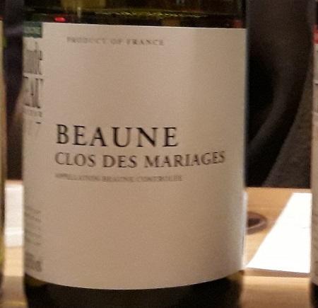 Jean-Claude Rateau Beaune Clos des Mariages