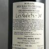 Domaine des Hauts Chassis Les Galets Crozes Hermitage 2017 Back Label