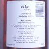 Cake Moon Safari Rose Adelaide Hills 2019 Back Label