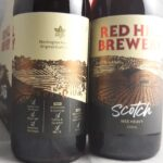 Red Hill Brewery Scotch Ale Wee Heavy Back Label