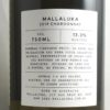 Mallaluka Hilltops Chardonnay 2019 Back Label