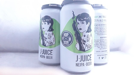 Hop Nation Jedi Juice NEIPA