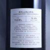 Mallaluka Canberra District Cabernet Sauvignon II 2018 Back Label