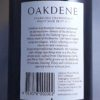 Oakdene Blue Label Brut Geelong NV Back Label