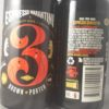 3 Ravens Espresso Quarantini Brown Porter Bacl Label