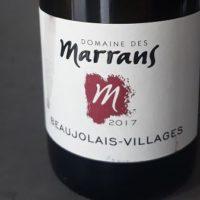 Domaine Des Marrans Beaujolais Villages 2017