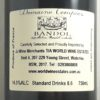 Domaine Tempier Classique Pour Lulu Bandol 2017 Back Label