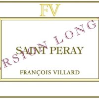 Francois Villard Version Longue Saint Peray 2014