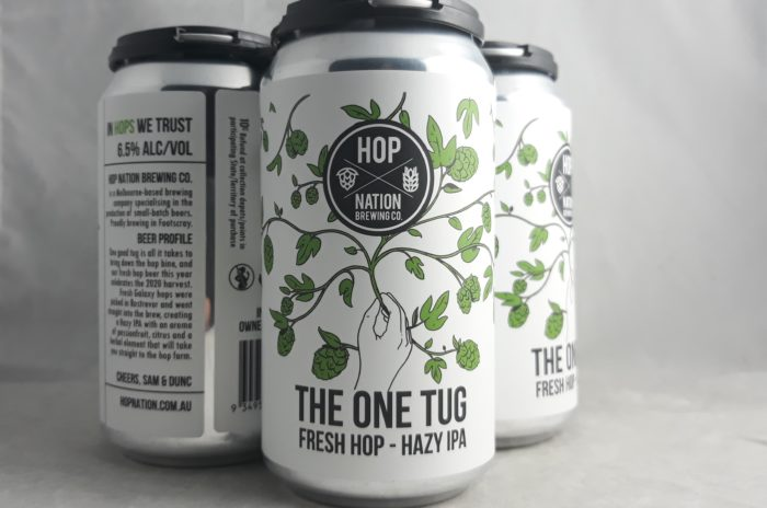 Hop Nation One Tug Hazy IPA