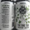 Hop Nation One Tug Hazy IPA Back Label
