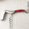 Laguiole En Aubrac Corkscrew Marshmallow Red Open