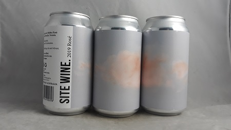 Site Wine Rose 2019 375ml Can