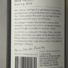 Thorn Clarke Sandpiper Riesling Eden Valley 2019 Back Label