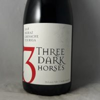 Three Dark Horses Shiraz Grenache Touriga 2018