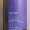 Le Timbre LateNightTales Whitlands Riesling 2019 Back Label