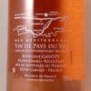 Gavoty La Cigale Vin du Pay du Var Provence NV Back Label