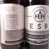Hargreaves Hill ESB Extra Special Bitter 330ml Back Label