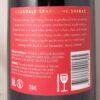 Bleasdale Sparkling Shiraz Langhorne Creek NV 750ml Back Label