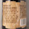 First Drop 2% Shiraz Barossa Valley 2016 Back Label