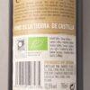 Flor del Montgo Vino de la Tierra de Castilla Tempranillo 2017 Back Label