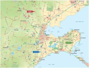 Geelong Wine Map
