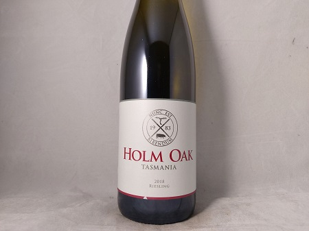 Holm Oak Tasmania Riesling 2018 Exotic, focused