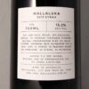 Mallaluka Syrah Canberra District 2019 Back Label