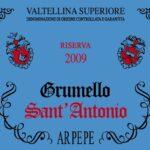 Arpepe Grumello Sant'Antonio Valtellina Superiore Riserva DOCG 2009