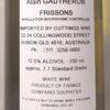 Cyril Gautheron Frissons Burgundy Chardonnay 2017 Back Label