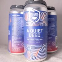 Deeds Brewing A Quiet Deed Oat Cream Hazy TIPA 440ml
