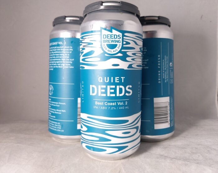 Deeds Brewing Best Coast Vol. 2 IPA 440ml