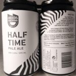 Deeds Brewing Half Time Pale Ale 375ml Back Label