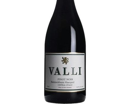Valli Bannockburn Central Otago Pinot Noir 2016