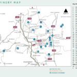 Macedon Wine Map